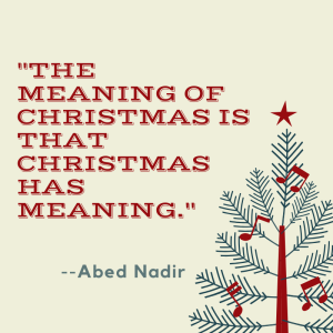 """2017 Christmas Special: Community: """"Abed's Uncontrollable"""
